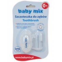 BABY MIX První zubní kartáček s pouzdrem