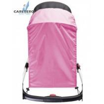 CARETERO Sluneční clona na kočárek pink