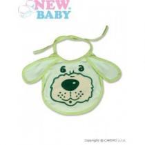 NEW BABY Dětský bryndák zelený