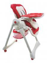 BABY MIX Jídelní židlička červená