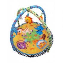 BABY MIX Hrací deka s melodií Safari