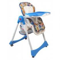 BABY MIX Jídelní židlička modrá