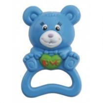 BABY MIX Dětské chrastítko medvěd modrý