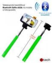 C-TECH teleskopický selfie držák pro mobil, monopod, Bluetooth dálková spoušť