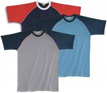 EDIS triko Světle modrá/Tmavě modrá
