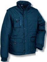 COFRA Zimní pracovní bunda ENISEJ Modrá
