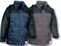 COFRA Zimní pracovní bunda GALWAY modrá/černá