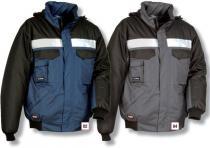 COFRA Zimní bunda GALE modrá/černá