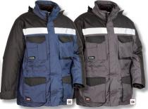 COFRA Zimní pracovní bunda HAILSTORM modrá/černá