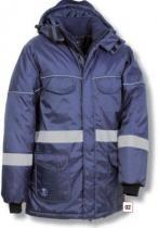 COFRA Zimní pracovní bunda VAHRN Modrá