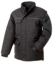 EDIS Zimní pracovní bunda SEBRING Edis Černá