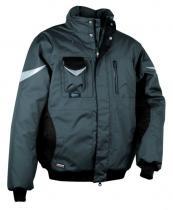 COFRA Zimní pracovní bunda Ice Berg Černá