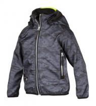 Snickers Workwear Dětská bunda Soft Shell 7506 Tmavě šedá