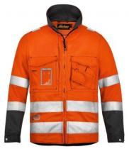 Snickers Workwear Reflexní bunda oranžová