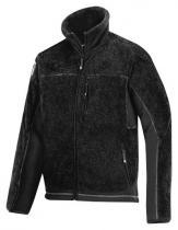 Snickers Workwear Bunda Fleecová Beránek 8011 Černá