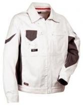 COFRA Pracovní malířská bunda DANZICA Bílá/černá