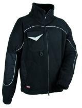 COFRA Zimní pracovní bunda Fleece Rider Černá