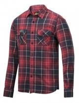 Snickers Workwear Košile kostkovaná 8512 Červená