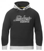 Snickers Workwear mikina s kapucí 2808 Černá