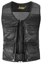 Snickers Workwear vesta DuraTwill řemeslnická 4192 Světle modrá