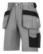 Snickers Workwear šortky RIP-STOP řemeslnické s pouzdrovými kapsami 3023 Zelená