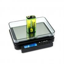 Digitální dopisní váha s váživostí 2kg a dílkem 0,1g