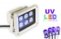 UV LED lampa pro vytvrzování lepidla a mazání EPROM osvitem