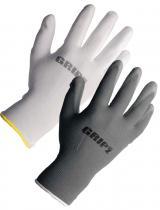 GRIP Z Ochranné rukavice lehký polyuretan bílé