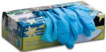EDIS Jednorázové rukavice LATEX modré
