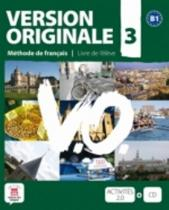 Version Originale 3 Livre de lĎleve + CD + DVD