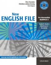 New English File Pre-intermediate Multipack A