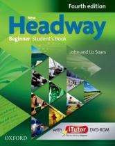 New Headway Fourth edition Beginner Studentƒs Book + iTutor DVD-ROM