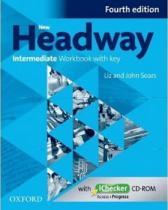 New Headway Intermediate Workbook with Key Fourth Edition + iChecker CD-rom