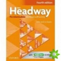 New Headway Pre-intermediate workbook without key + iChecker CD-ROM