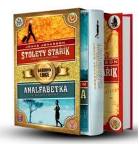 Jonas Jonasson: Stoletý stařík + Analfabetka BOX