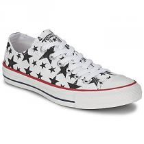 Converse Chuck Taylor All Star MULTI STAR PRINT OX bílá - dámské
