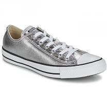 Converse CHUCK TAYLOR ALL STAR METALLICS OX stříbrná - dámské