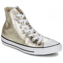 Converse CHUCK TAYLOR ALL STAR METALLICS HI Zlatá - dámské