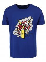 DOBRO modré triko pro Amnesty International