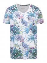 Shine Original Bílé tričko s barevným potiskem Original