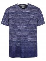 Burton Menswear London Modré pruhované triko