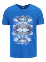 Jack & Jones Modré triko s potiskem Clayton