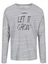 ZOOT Šedé žíhané triko s dlouhým rukávem Let It Grow