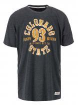 Jacks Tmavě šedé žíhané triko