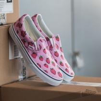 Vans Classic Slip On Strawberries Lavender / True White - dámské