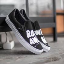 Vans Classic Slip On (Baron Von Fancy) Black/ White - dámské
