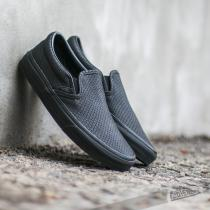 Vans Classic Slip On + Snake Leather Black - dámské