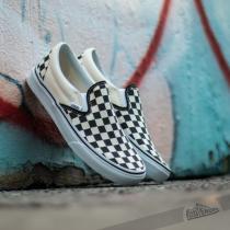 Vans Classic Slip On Black & White Checkerboard/ White - dámské