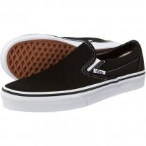 Vans Classic Slip On Black/ True White - dámské