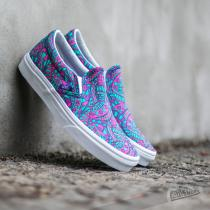 Vans Classic Slip On Liberty Satchmo/ True White - dámské